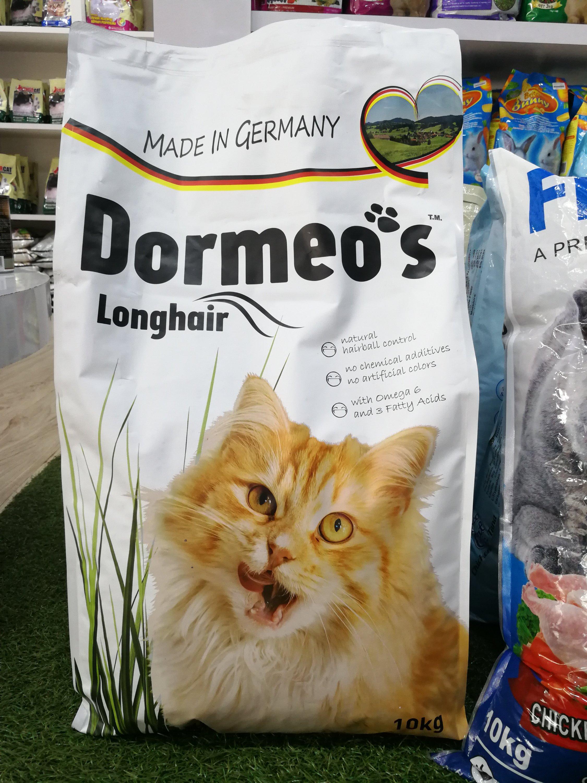 Mencuba Makanan Kucing Dormeo's