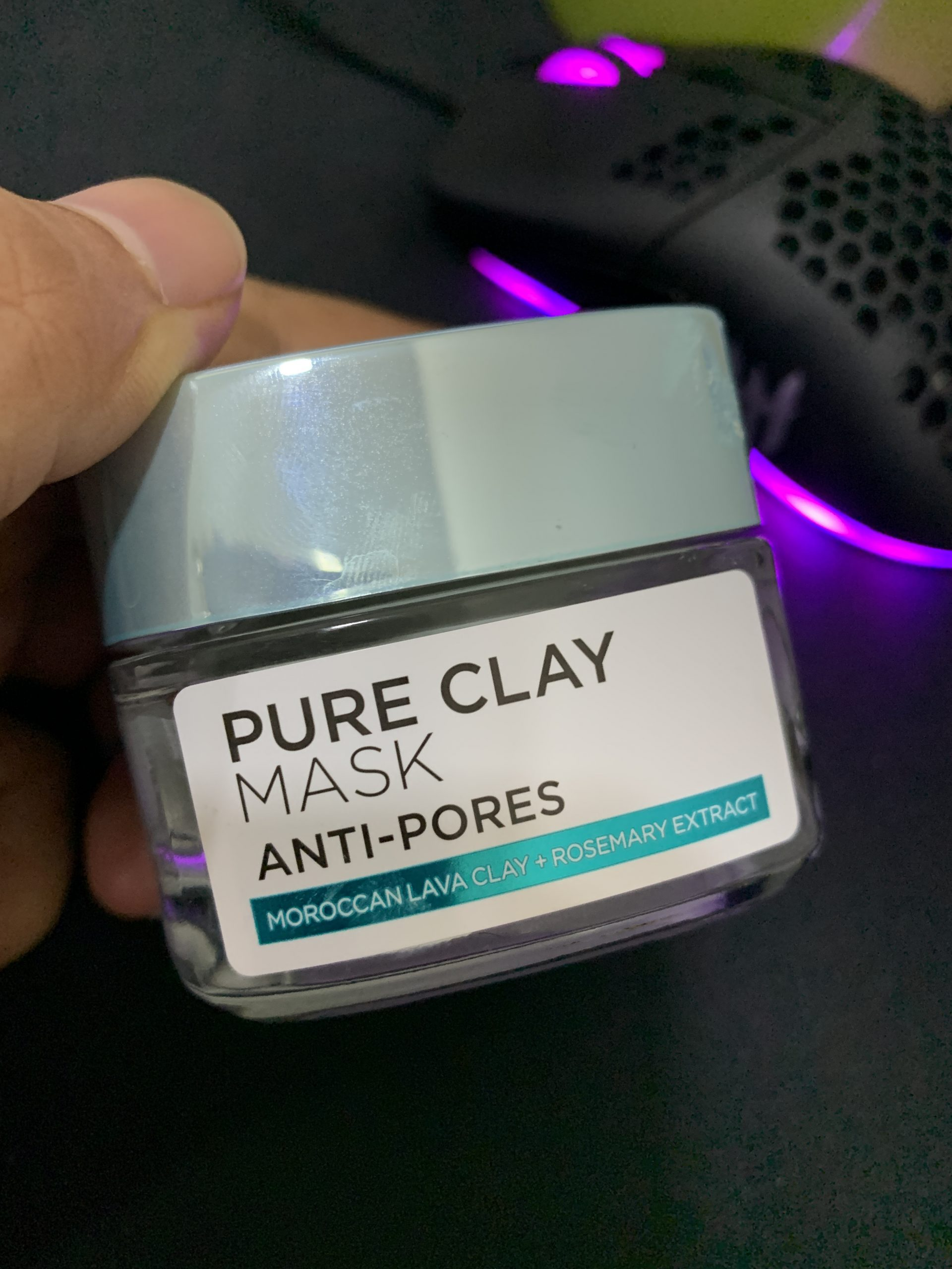 Loreal Pure Clay Mask Anti Pores Review Malaysia
