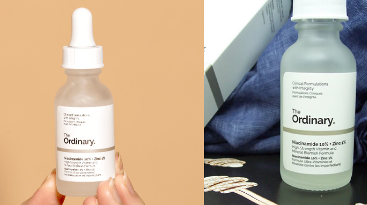 The Ordinary Serum - Beza Niacinamide dan Alpha Arbutin